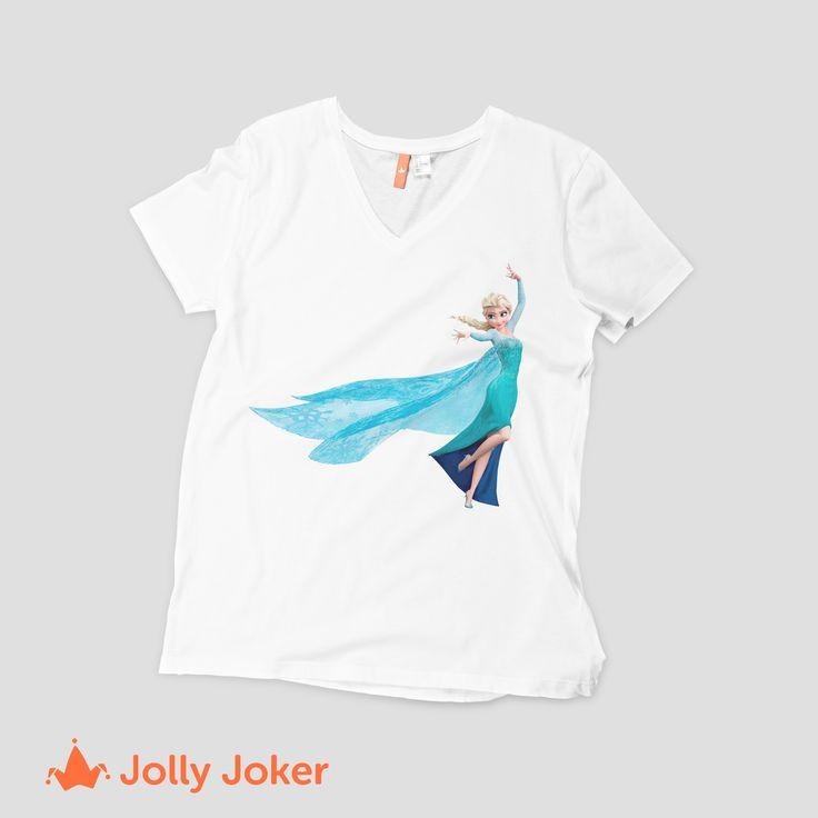 los cuentos de hadas es lo mas fascinante para las niñas! Un cumpleaños con una temática, un regalo, una sorpresa, darle una camiseta personalizada de su caricatura favorita les encantara! crea y diseña tus camisetas como quieras :D