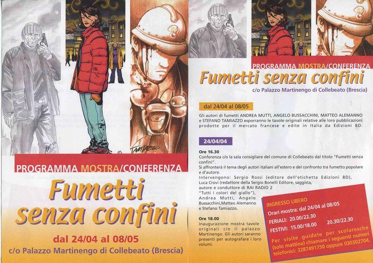 """""""Fumetti senza confini"""". Exhibition comics  in Palazzo Martinengo di Collebeato- Brescia. Tamiazzo, Mutti, Alemanno. #stefanotamiazzo #bd #comics #fumetti #comicart"""