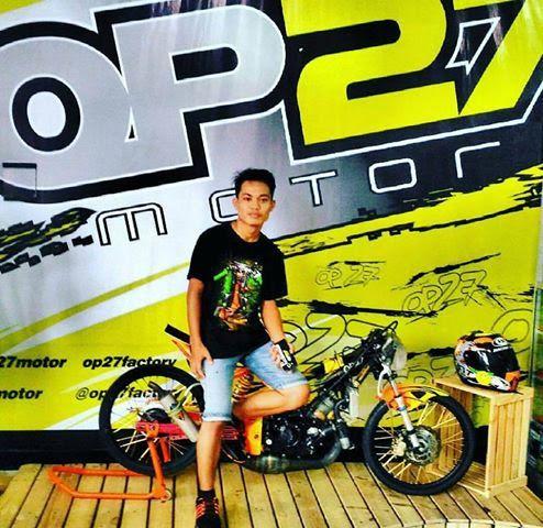 T-shirt OP27 Factory Racing TOP27-015 Black  @Regrann from @alfiandaviit - #regrann  087845622777 (WA, SMS, & Telp) / D17560D1 (BBM) / op27factory (LINE)