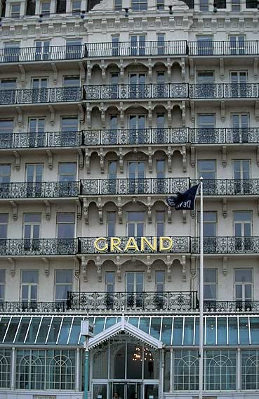 Had afternoon tea at the Grand ... stayed at this hotel when I spent five weeks in Britain in 1959