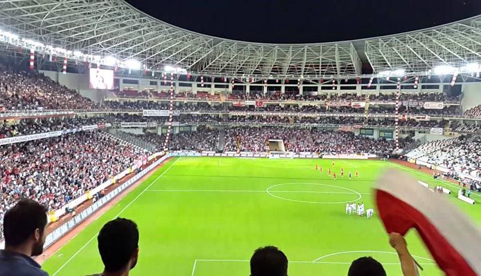 Antalyaspor yeni stad son hali