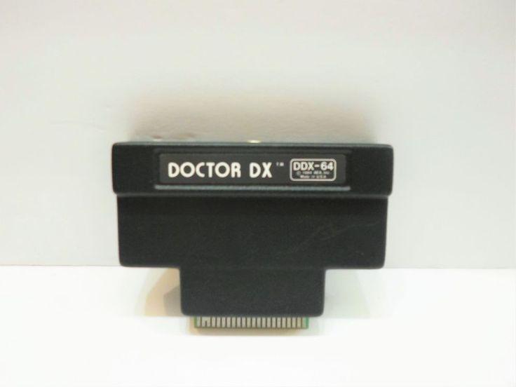 AEA DDX-64 Doctor DX Commodore 64 Morse Code Trainer HAM Radio Cartridge only #AEA