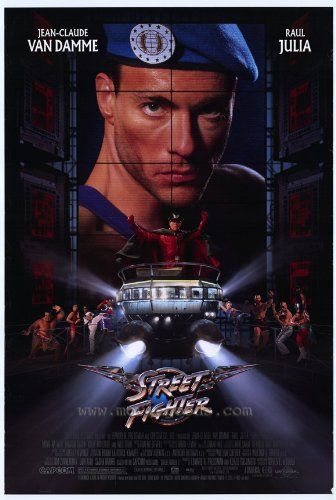 27 x 40 Street Fighter Movie Poster @ niftywarehouse.com #NiftyWarehouse…