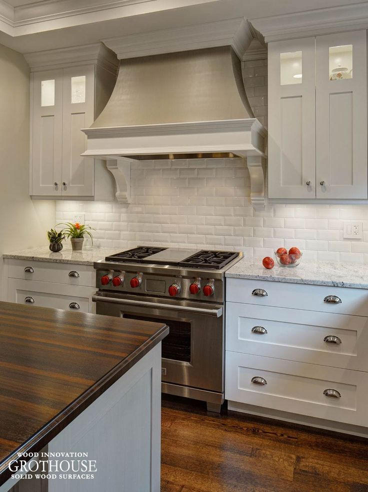 Custom Wenge Wood Kitchen Island Countertop Designed For A Transitional  Kitchen In Glen Ellyn, IL Has Rich Color And Is Easy To Maintain