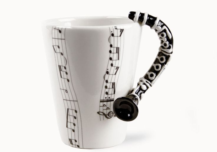 clarinet mug!! ahhh<3 #clarinet I put this here in hopes that someone will have gifted this to my by my wedding.