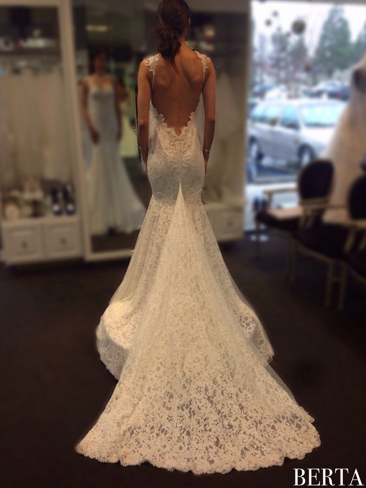 In love with our ca berta brides from berta trunk show for Mon amie wedding dresses