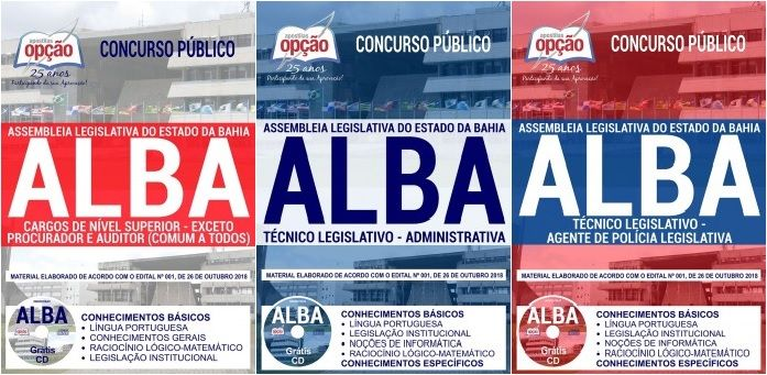 Apostilas Preparatorias Concurso Assembleia Legislativa Do Estado