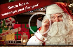 Get a Free Santa Message Video