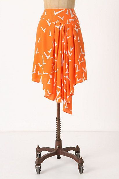scattered wing skirt, perfect for hot summer days!