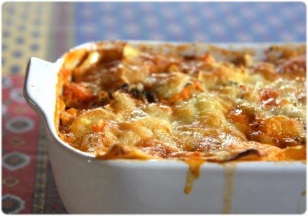 Ravioli as a lasagna casserole - Gratin de raviolis comme une lasagne - Tasca da Elvira