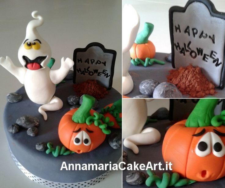 Ed ecco un altro Cake Topper di Halloween che ho realizzato per la torta di due fratellini! Condividi se ti piace! #CakeDesign #cakes #cakedecorating #modelling #caketopper #cakemania #AnnamariaCakeArt #sugarart #cakeart #Halloween
