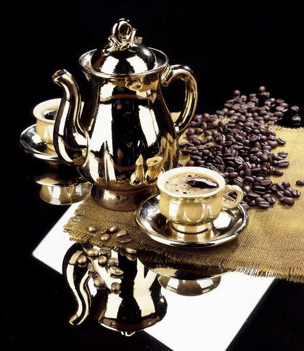Схема вышивки «Чашка кофе»