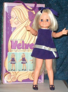 """Ideal """"Velvet"""" Doll circa 1970 My velvet & chrissy were always well taken care of.  Miss them now"""