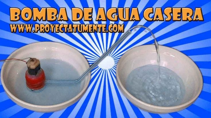 23 best bomba casera images on pinterest homemade for Como hacer una piscina casera