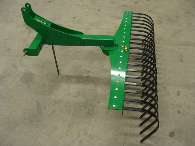 cat 0 3 point hitch attachments | Cat - 0 3PT. Rake 003.jpg (106116 bytes)
