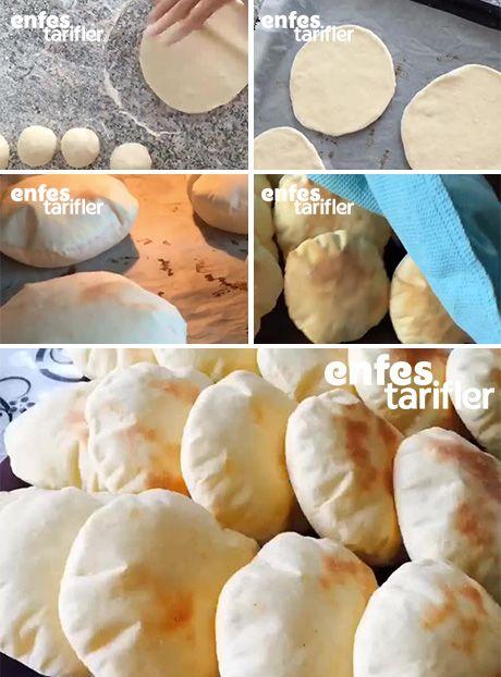 Balon Ekmek Tarifi için Malzemeler 2 su bardağı ılık süt 1,5 su bardağı ılık su 4 yemek kaşığı sıvı yağ 1 yemek kaşığı dolusu yoğurt 1 tatlı kaşığı tuz 1 yemek kaşığı silme şeker 1 paket instant maya ya da 1 paket yaş maya Aldığı kadar un Balon Ekmek Yapılışı Balon ekmek için yoğurma kabına ilk olarak maya ve sıvı malzemeleri alın. Sıvı malzemeler ile maya karışınca tuz, şeker ve ununu eklemeye başlayın. Hafif akışkan kıvamlı bir hamur elde edene kadar un ekleyin ve daha sonra güzelce…