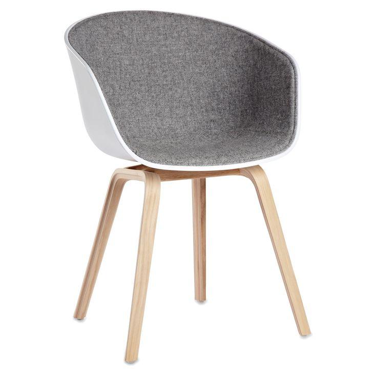 About a Chair 22, ekben/grå klädsel i gruppen Möbler / Stolar & Pallar / Stolar hos RUM21.se (132136)