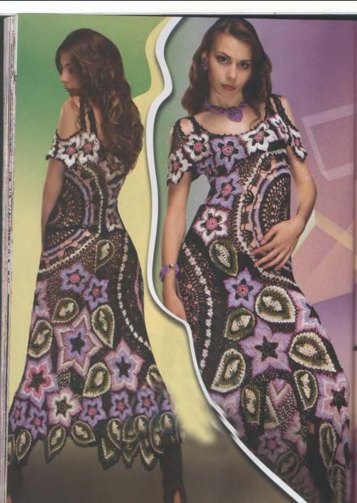 SPECIAL Duplet  Irish Lace 3  Crochet Patterns Magazine  women's dress top skirt cardigan Dress. $17.90, via Etsy.