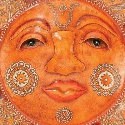 Face Focus...Outdoor Sun Face Wall Art by Regal Art and Gift | Outdoor Wall