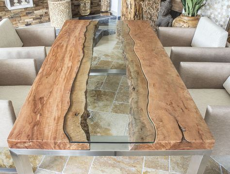 THE TABLE CONCRETE :: Designer table solid wood table wi …