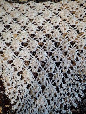 New-unique-hand-knit-crochet-handmade-wedding-wool-shawl-wrap-capelet-scarf
