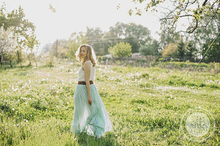 http://dreameyestudio.pl/ #dreameyestudio #mint #dress #romantic #photosession #session #girl #rustical
