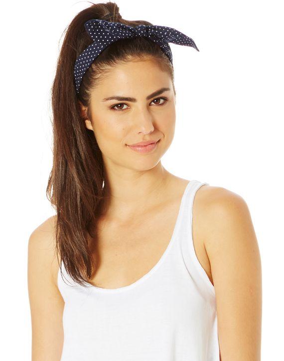Spotted Wire Twist Headband