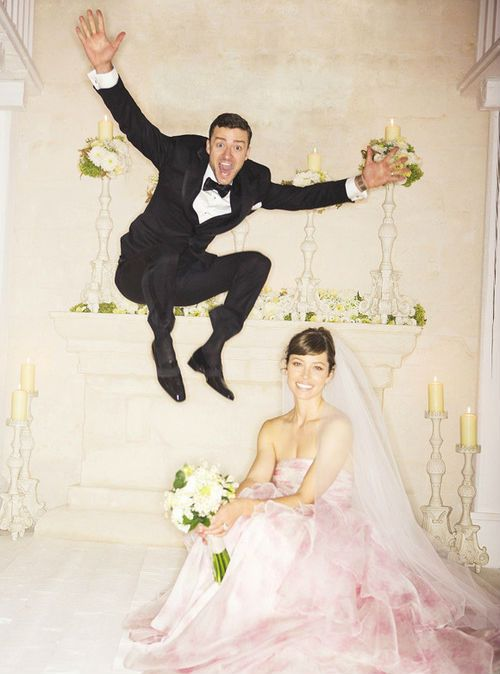Justin Timberlake e Jessica Biel, por Michael Muller.