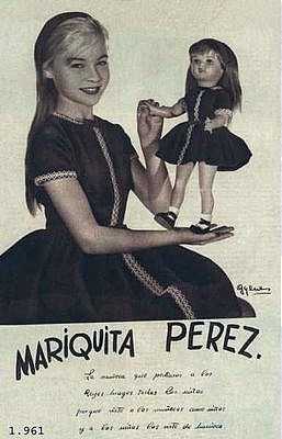 Marisol con Mariquita Pérez