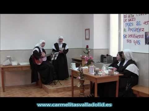 Profesión Temporal Hna. Inmaculada Verónica (1). Carmelitas, Valladolid (España)