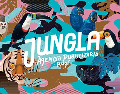 """Check out this @Behance project: """"J U N G L A   Agencia publicitaria"""" https://www.behance.net/gallery/28983815/J-U-N-G-L-A-Agencia-publicitaria"""
