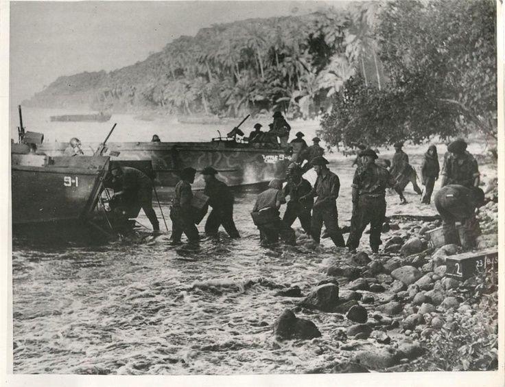 Jarvis Island WW2 | ... on Treasury Island. Bulk of the landing force were New Zealanders