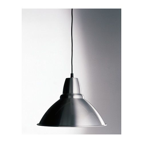 FOTO Pendant lamp IKEA Gives a directed light; good for lighting up for example dining tables or bar tops. 25 cm. Quantity: 2