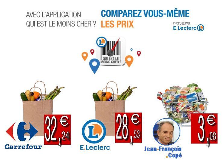 Comparons les prix avec Jean-François Copé