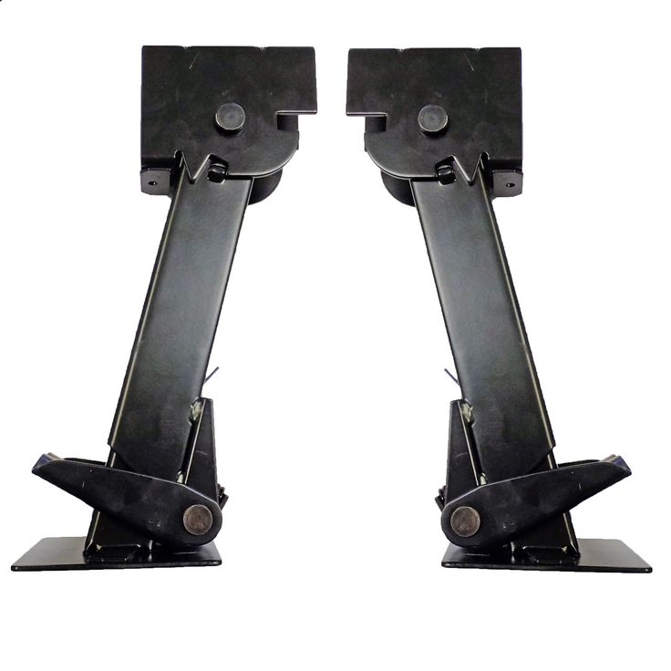 "Part #: OTP-TSJX2 Description: 2 (Two) Folding and retractable 650 lb. trailer stabilizer jacks. - Specs: - Retracted Length (collapsed): 11-1/2"" - Extended Length: 17-3/4"" - Drop Leg Travel: 6-1/4"" -"