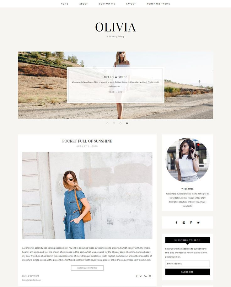 The 40 best Blogger and Wordpress Templates images on Pinterest ...
