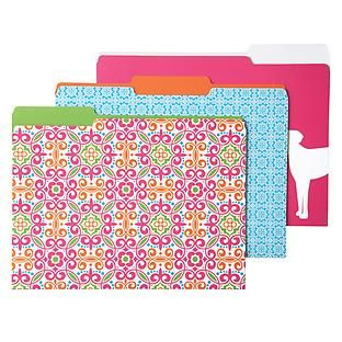 The Container Store > Kate Letter-Size Interior File Folders