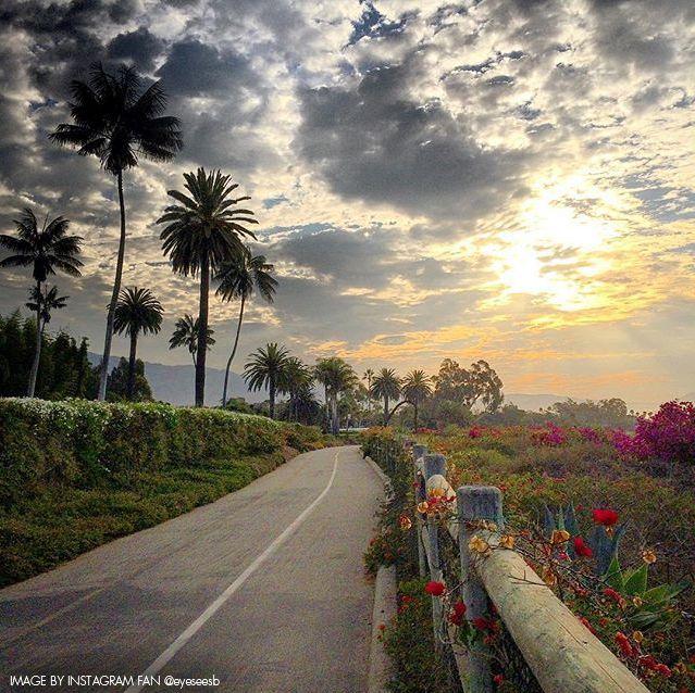 Follow the beauty to Montecito, California.
