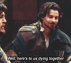"""The high stakes   Community Post: 12 Reasons Why BBC One's """"The Musketeers"""" Is Fantastic #themusketeers"""