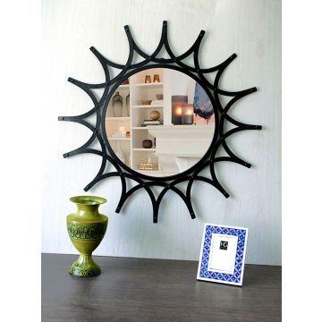 hosley decorative sunflower iron wall mirror - Schmales Nachttischziel