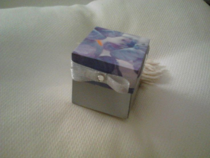 Silver Invitation Box