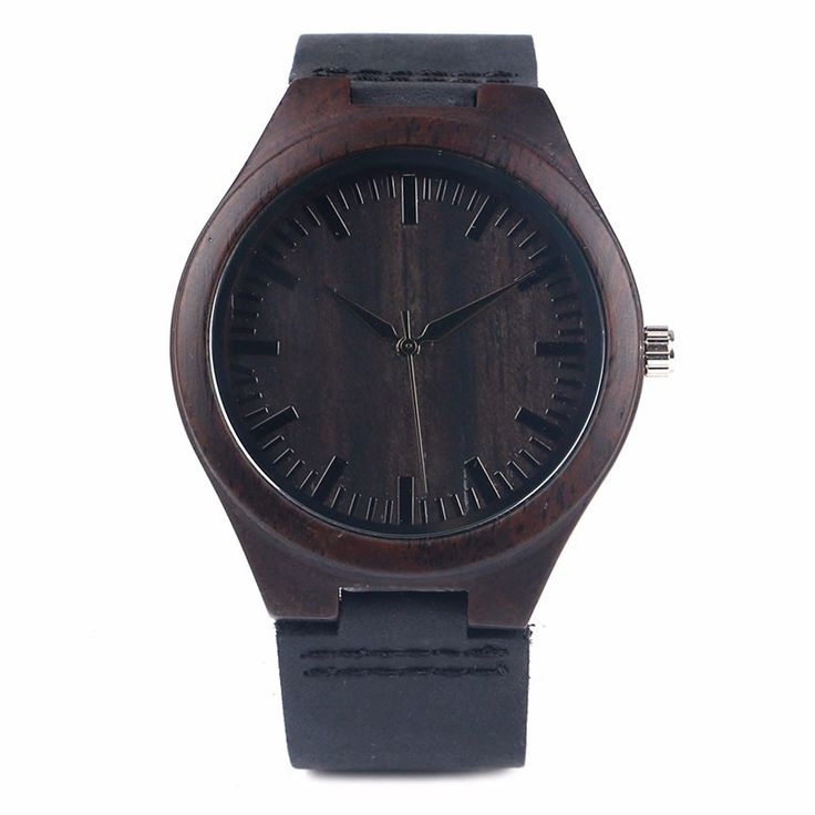 Wooden Watch with Genuine Leather Strap //Price: $28.99 & FREE Shipping //     #woodenaccessories