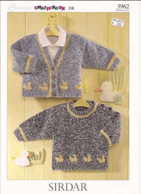 Sirdar Snuggly Chatterbox DK Knitting Pattern 3962 by brokemarys. 0 months to 4 years