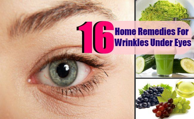 There are several home remedies that can be very effective in reducing the appearance of wrinkles and lines under eyes. The best thing about these ...