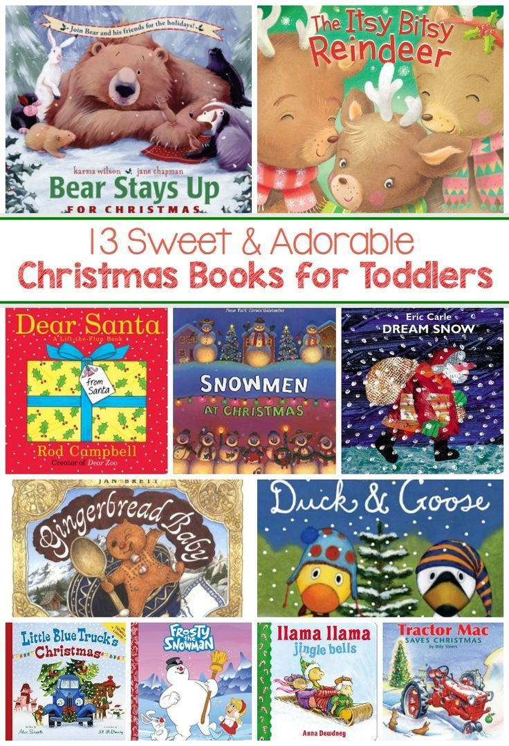 Christmas Books For Toddlers Christmas Activities And Ideas