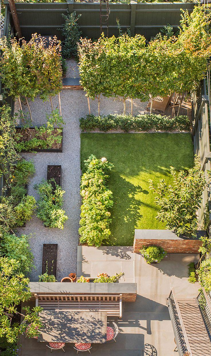Kleine tuin.
