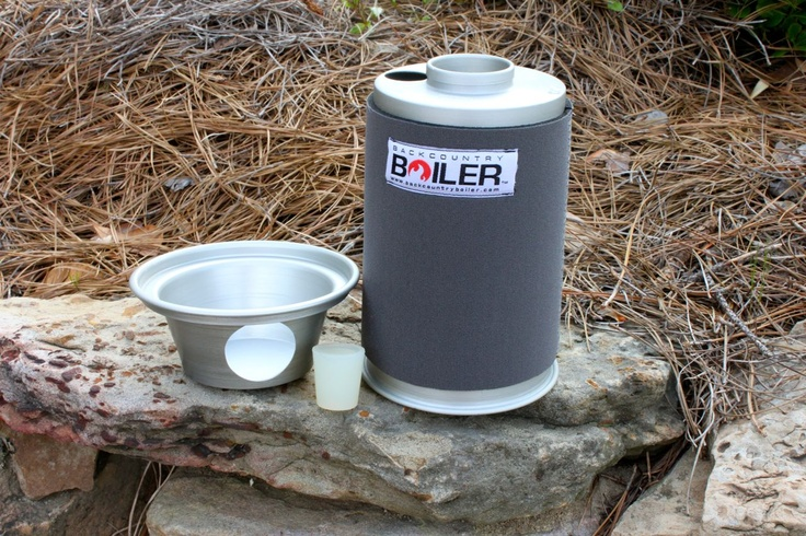 Extremely efficient wood-fired kettle -  The Boilerwerks Backcountry Boiler