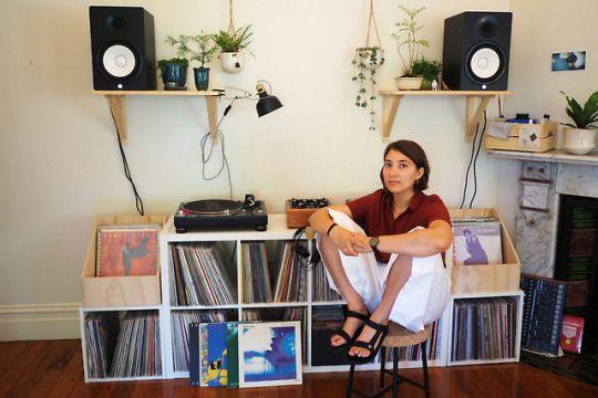 Lauren Hansom #DJ #Vinyl #Record #Records #Music #Collection