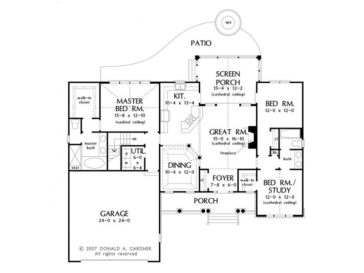 66 best house plans images on pinterest house floor Ranch basement floor plans