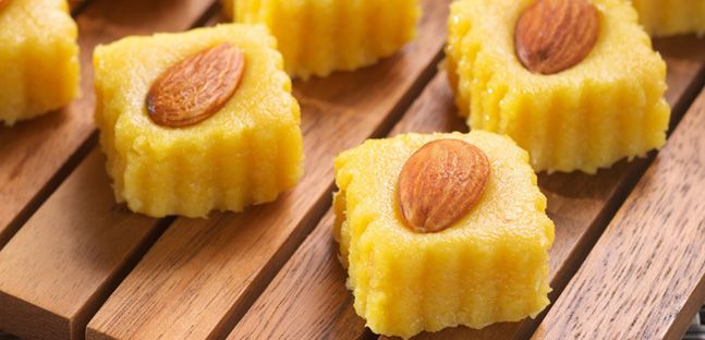 Try The Delicious Badam Halwa Almond Halwa Recipe From Nestle Desserts Arabia Click Here For The Badam Halwa Almond Halwa Recip Diwali Receipes Condensed Milk Recipes Milk Recipes Nestle Cream